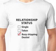 Relationship Status Destiel Shirt #3 Unisex T-Shirt