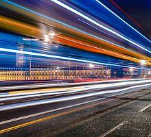 Big Ben Lights, London by Michael Abid