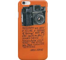 Photography is our life iPhone Case/Skin