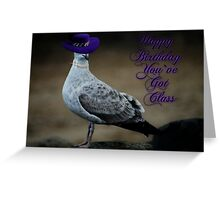 Classy Bird Greeting Card