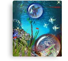 No Seawitch Is Gonna Keep Me Away From My Diamonds Canvas Print