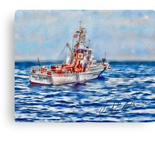 USCGC Pt. Warde Canvas Print