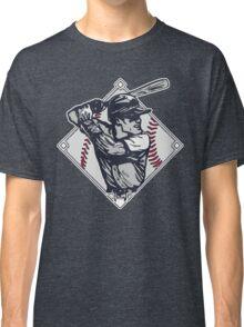 Classic Diamond Baseball Rocks Slugger Classic T-Shirt