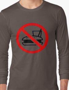 Warning - No Food Long Sleeve T-Shirt