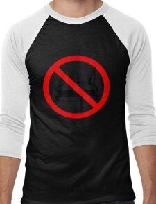 Warning - No Food Men's Baseball ¾ T-Shirt