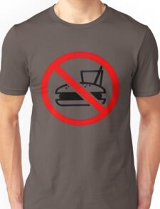 Warning - No Food Unisex T-Shirt