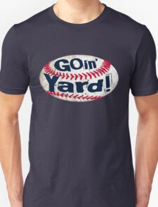 Going Yard Baseball Art Unisex T-Shirt