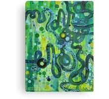 Coil to Globule Canvas Print