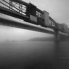 """"""" Fading Mist Of Tamar  """"  by Richard Couchman"""