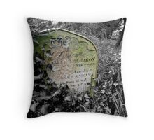 March Of Time Throw Pillow