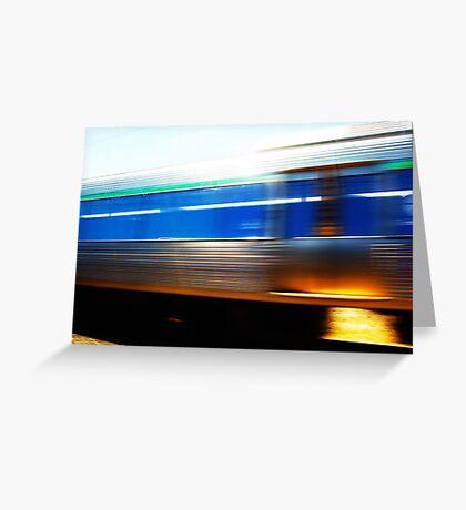 Train 07 03 13 Greeting Card