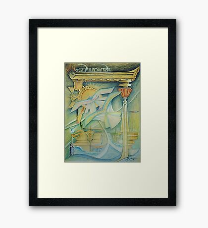 architects love Framed Print