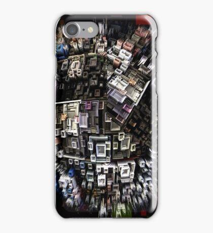 exploding city iPhone Case/Skin