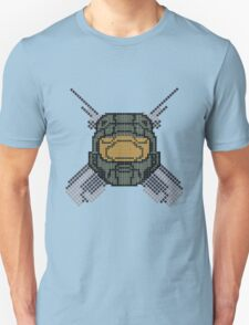 Halo - Pixl chief (centre) T-Shirt