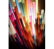 Straws Photographic Print