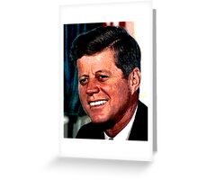 All The President's Heads #2 - JFK Greeting Card