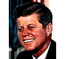 All The President's Heads #2 - JFK Photographic Print