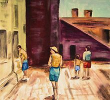 Tourists 1963 by hickerson