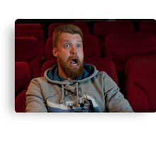 Scary movie Canvas Print
