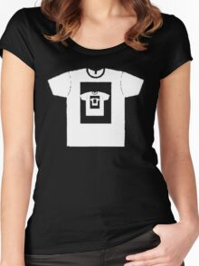 t-shirt on a t-shirt Women's Fitted Scoop T-Shirt