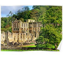 Rievaulx Abbey - HDR Poster