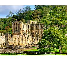 Rievaulx Abbey - HDR Photographic Print