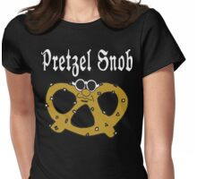 Pretzel Snob Womens Fitted T-Shirt