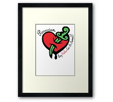Possession Tonic! Framed Print