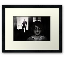 Nowhere To Run Framed Print