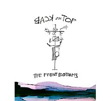 the front bottoms back on top Photographic Print