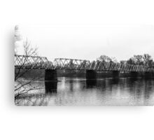 Washington Crossing Bridge Canvas Print
