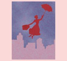 Girlie Miss Poppins  Baby Tee