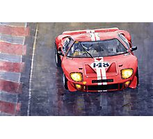 Ford GT 40 24 Le Mans  Photographic Print