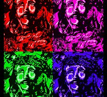 Quad Jesus by ArtbyBart