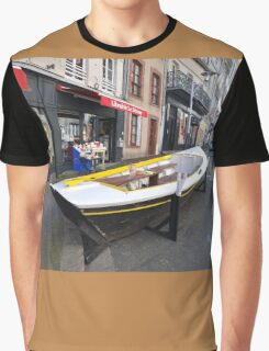 Granville, France 2012 - Reading Boat Graphic T-Shirt