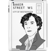 Sherlock - Benedict Cumberbatch - Drawing iPad Case/Skin