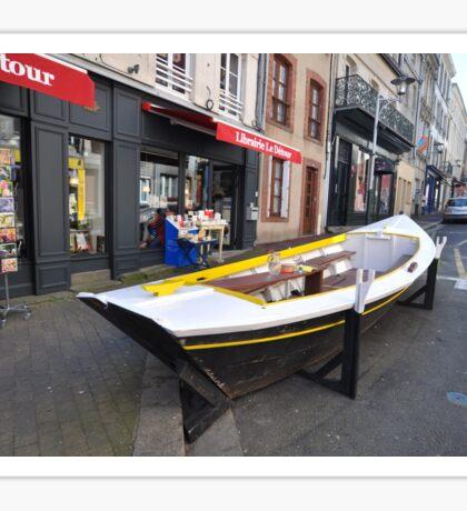 Granville, France 2012 - Reading Boat Sticker