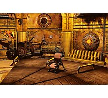Steampunk Time Machine Photographic Print