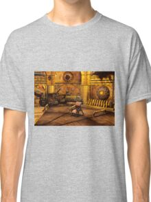 Steampunk Time Machine Classic T-Shirt