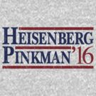 Breaking Bad - Heisenberg Pinkman 2016 by thatshirtgirl