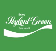 Enjoy Soylent Green (green) - geek t-shirt by geekuniverse