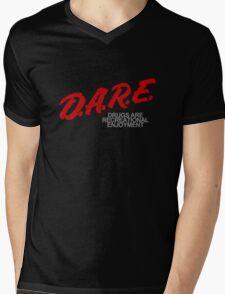 DARE Mens V-Neck T-Shirt
