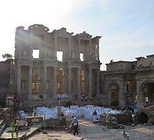 Ephesus Library by seaton59
