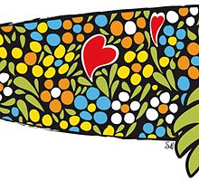 Symbols of Portugal - Cool Rooster Sardine Mix by Silvia Neto