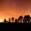Clonmacnoise Startrail by Mark Lyons