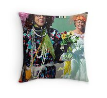 Miss Pitty Pat Throw Pillow