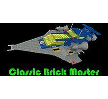 Classic Brick Master Photographic Print