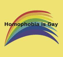 Homophobia is Gay by jagar1234