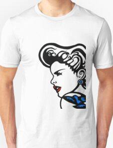 Retro Pop.Girl&Bluebird T-Shirt