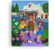Bruthen Beauties stock up at the Store Canvas Print